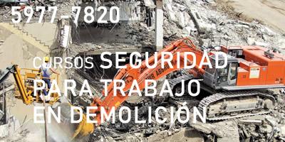 Seguridad para Trabajos de Demolición