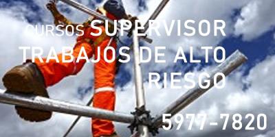 Supervisor de Trabajos de Alto Riesgo