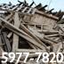 Extracción de Madera Ripio Basura Escombros en Guatemala