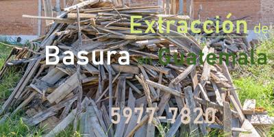 Extracción de Basura en Guatemala