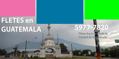 Fletes Ciudad Vieja Sacatepequez