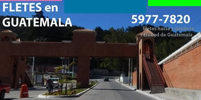 Fletes San Jose Pinula