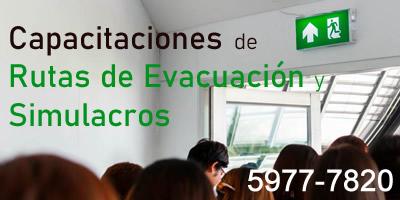 Capacitacián en Rutas de Evacuacián y Simulacros