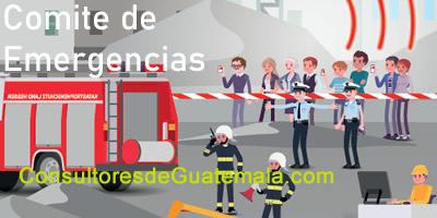 Comité de Emergencias: Lideres a cargo de la toma de decisiones en una Emergencia.