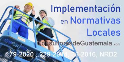 Asesoría en Implementación en Normativas Locales.
