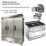 Mantenimiento de equipos de restaurante para cocinas comerciales